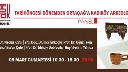 Kadıköy'de, Kadıköy Arkeolojisi Paneli