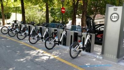 Paylaşımlı E-Bisiklet Sistemi Örneği BiciMAD