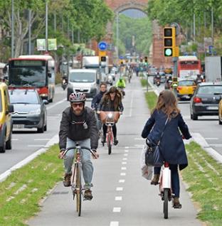 Barselona'da Değişim:  Kentsel Hareketlilik Planı
