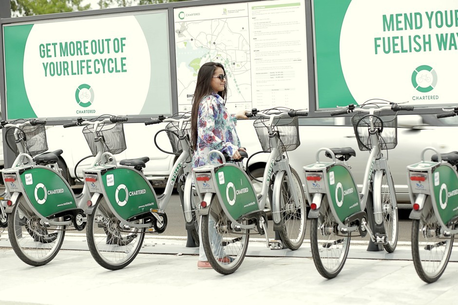 bhopal bike sharing