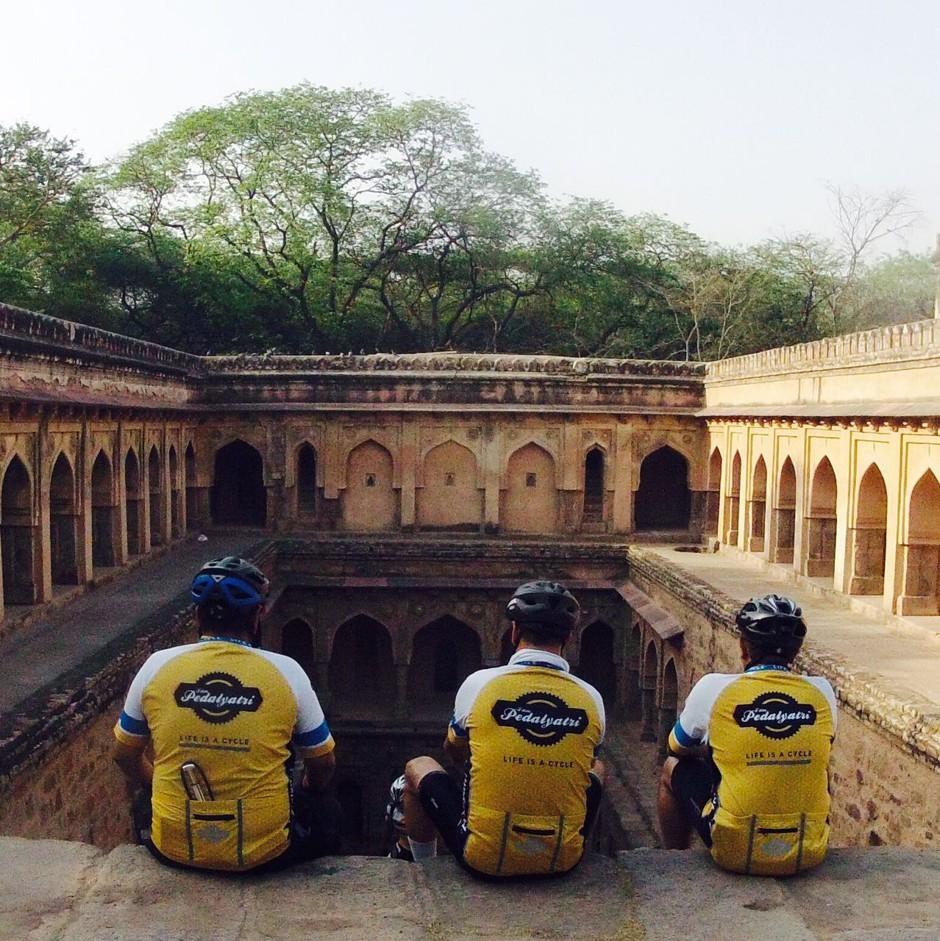bike trip in India