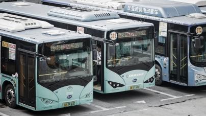 Çin'in Shenzhen Kenti Kamuya Ait 16.359 Aracı Elektrikli Hale Getirdi