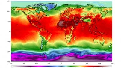 Gezegenimiz Koca Bir Ateş Topuna Dönüşüyor