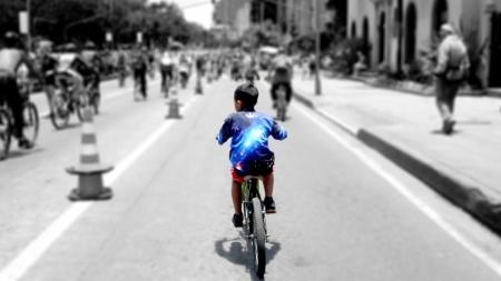 Bogota'nın Süper Bisiklet Otoyolu Ciclovía
