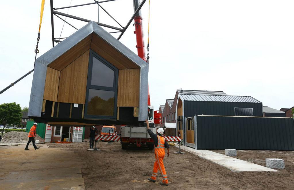 Groningen Belediyesi yüzlerce geçici ev inşa etmeyi planlıyor